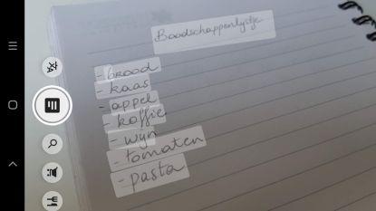 Handgeschreven nota's overtikken? Niet meer nodig: Google doet het voor je