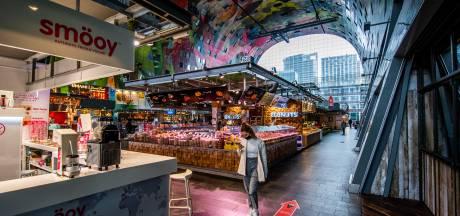 Markthal lijdt flink onder wegblijven toeristen: 'Zo stil is het nog nooit geweest'
