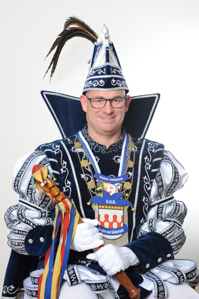 Hans Kersten Prins Ummenie de 57ste van Groesbeek.