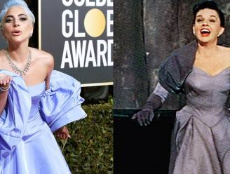 Golden Globes-jurk van Lady Gaga is eerbetoon aan Judy Garland