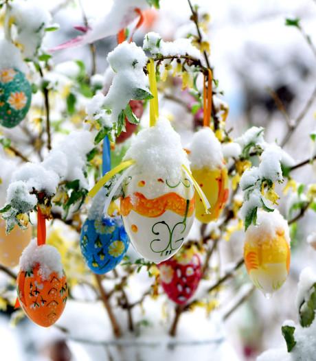Paasweekend: eieren rapen in de sneeuw of met 20 graden in de zon?