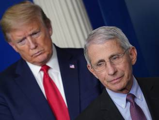 """Trump: """"Fauci is een ramp. Als ik naar hem zou luisteren, hadden we 500.000 doden"""""""