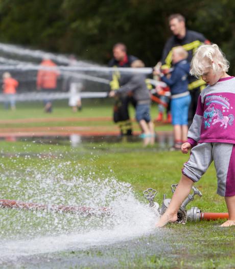 Geen geblus voor kinderen op brandweermiddag Ruurlo