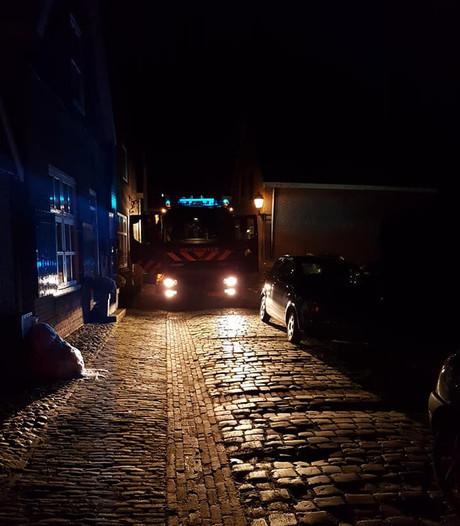 Autobrand in Borculo door kortsluiting