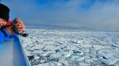 De zee rond Groenland wordt minder zout en dat heeft grote gevolgen voor ons weer