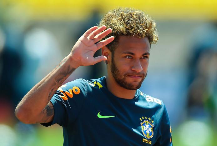 De man op wie alle ogen gericht zijn: Neymar.
