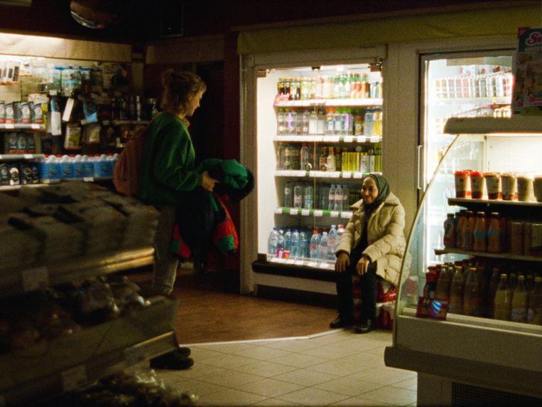 Ghost Tropic, waarin de 58-jarige schoonmaakster Khadija een nacht lang wordt gevolgd.  Beeld