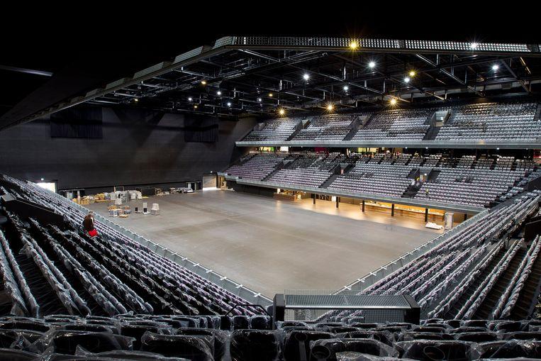 De Ziggo Dome is een van de locaties waar het Songfestival zou kunnen plaatsvinden. Beeld Paul Bergen