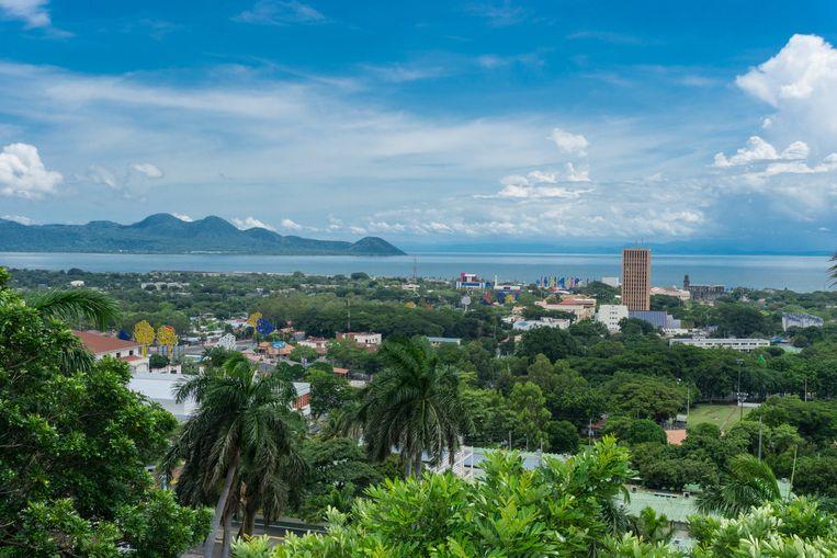 Managua, de hoofdstad van Nicaragua.