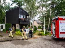 Bliksem veroorzaakt brand in kelder van woning in Dieren