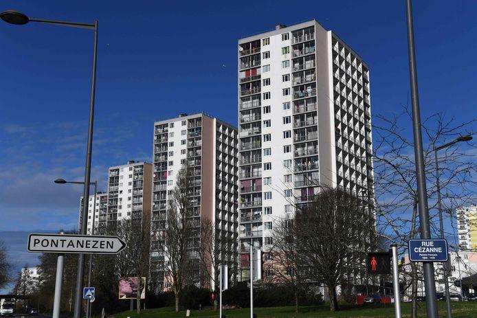 Le quartier de Pontanezen, à Brest, où les 7 terroristes présumés ont été arrêtés