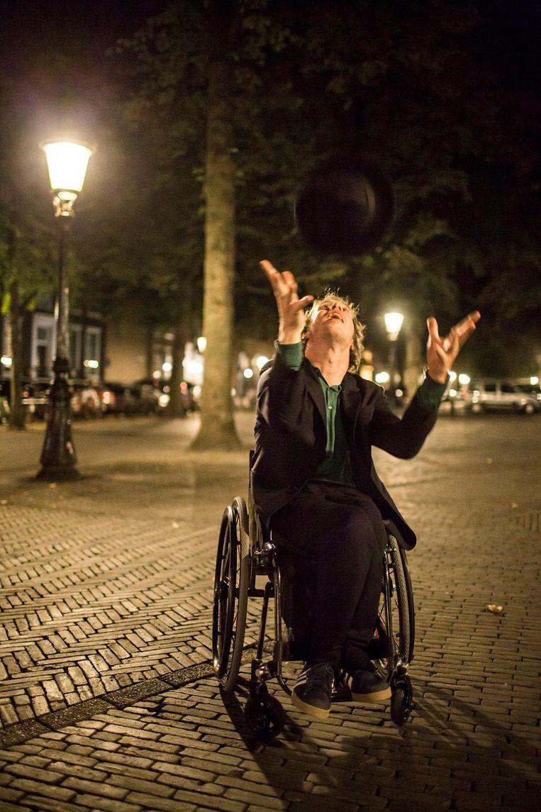 Mari Sanders: 'Dit is mijn manier om mee te doen, om te participeren' Beeld Julius Schrank