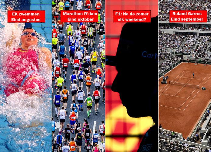 Het wordt dringen op de sportkalender, komende herfst.