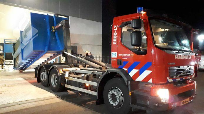 Brand bij een bedrijf in Zeeland.