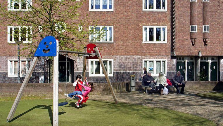 Stichting Welzijn IJsterk is vooral actief in Centrum en Westerpark en beheert daar buurthuizen, speeltuinen en jongerencentra. Foto ANP Beeld