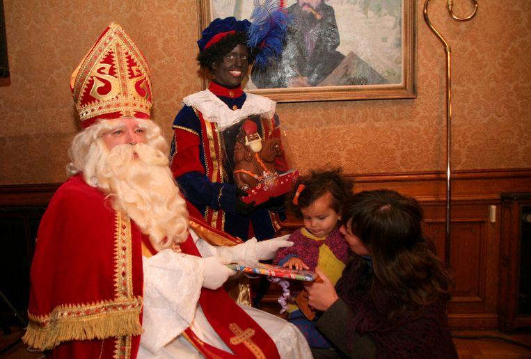 Sinterklaas in zijn Huis van de Sint, waar hij elk jaar zo'n 35.000 bezoekers ontvangt.