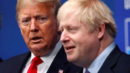 Boris Johnson begint handelsgesprekken met VS