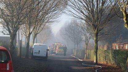 Twee gasflessen exploderen in bungalow in Gent: veel rook, geen gewonden