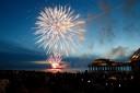 Vuurwerkfestival in Scheveningen.