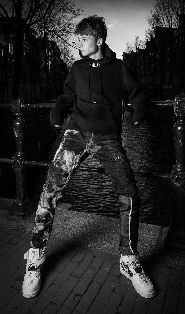 Vince Reece Hale in zijn eigen creatie. Beeld Hale Photography