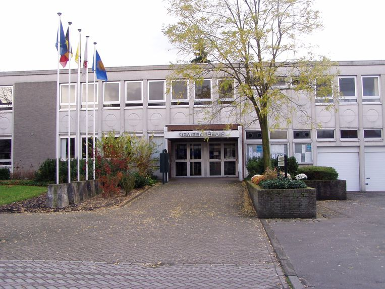 Archiefbeeld gemeentehuis Zonhoven.