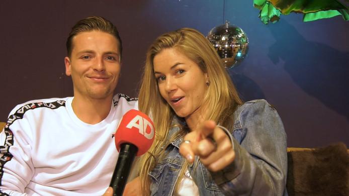 Anouk Hoogendijk en Jesse Wijnans