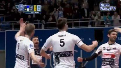 Roeselare kan in Champions League volleybal niet stunten in Kazan