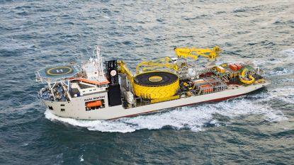 Jan De Nul Group legt onderzeese stroomkabel tussen Kreta en de Peloponnesos