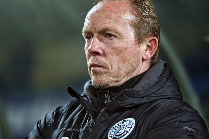 FC Den Bosch-trainer Wil Boessen .