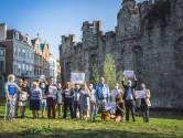 """Gent wil onthaalpaviljoen neerpoten op parkje naast Gravensteen, buurtbewoners reageren furieus: """"Dit is het laatste stukje groen in de wijde omtrek"""""""