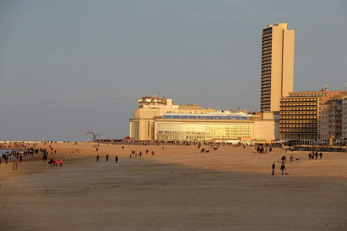 De kust in Oostende