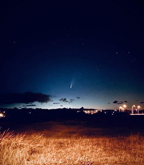Komeet Neowise was ook boven Zeeland goed te zien