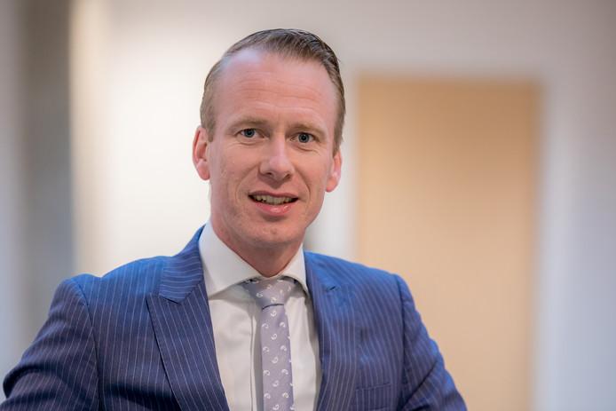 Wethouder Cees van den Bos (Sociaal Domein, SGP).