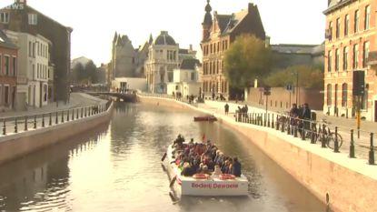 Gent is vanaf vandaag weer een eiland