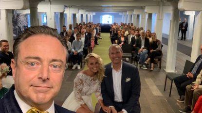 Bart De Wever was ook 'meneer de burgemeester' op huwelijk Gert Verhulst