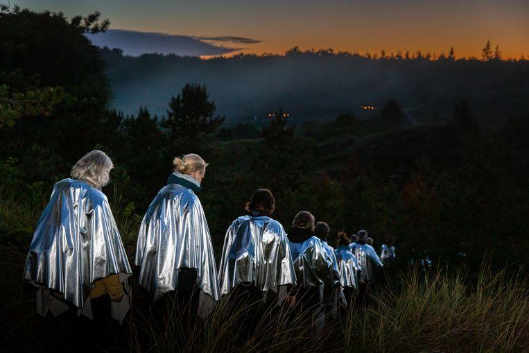 Firebird, een lichtsymfonie van Touki Delphine & Theun Mosk. Beeld Nichon Glerum