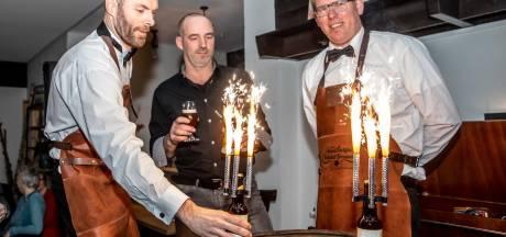 Hoonhorst opent jubileumjaar met eigenheid, noaberschap en 'Jeroen Krabbé-biertje'