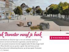 Bezoek Deventer, tijdens de coronacrisis vanaf de bank thuis