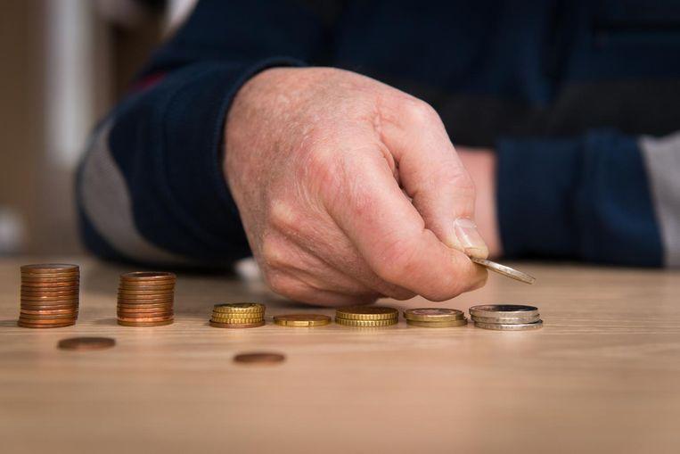 65-plussers profiteren niet van het gunstige tij van de economie. Beeld ANP