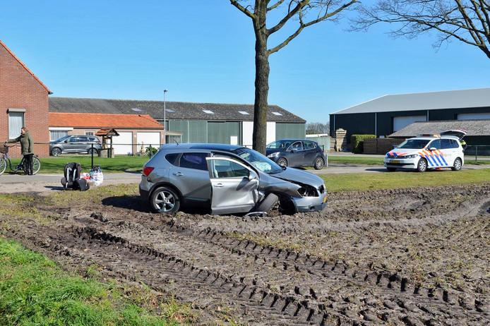 Ongeluk in Bergen op Zoom.