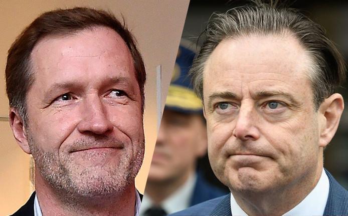 Paul Magnette et Bart De Wever, président du PS et de la N-VA.