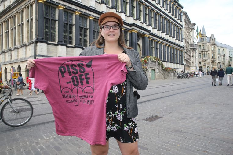 Ashley Vandekerckhove (27) komt op voor PISS-OFF voor de gemeenteraadsverkiezingen in Gent.