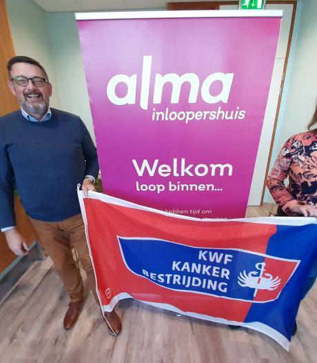 Kankerpatiënten kunnen hun hart luchten bij het Alma Inloopershuis in Almelo