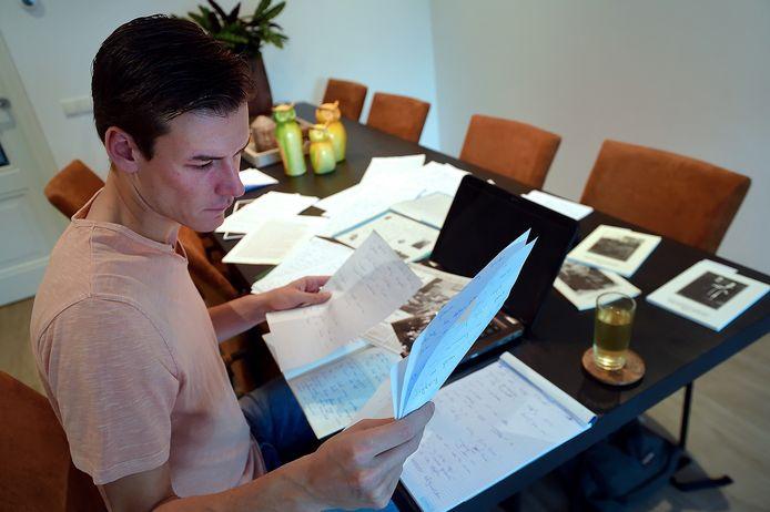 De Willebrordse journalist Nick Brouwer schrijft een oorlogsgedenkboek voor de gemeente Rucphen.