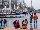 Piushaven: 'Gevaarlijk ijs', maar schaatsers zien vooral buitenkansje