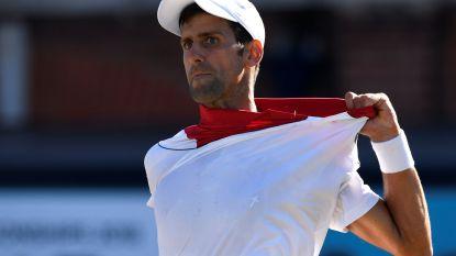 Cilic houdt Djokovic van eerste toernooiwinst sinds comeback, Mertens verliest dubbelfinale in Birmingham