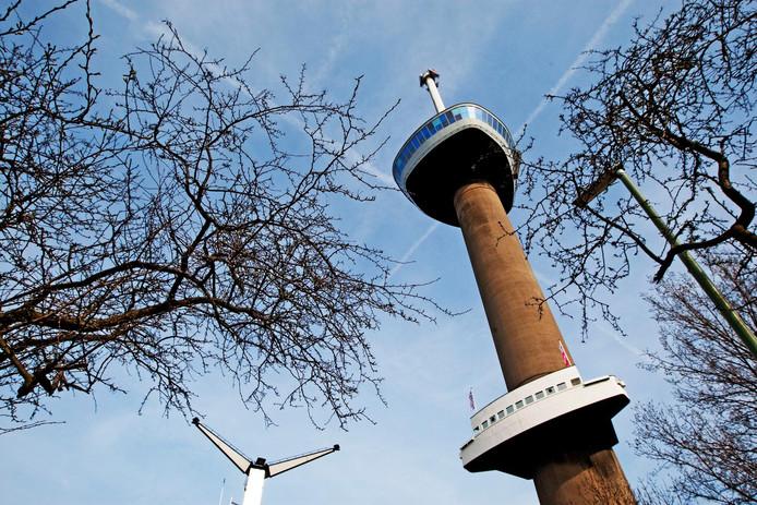 De Euromast in Rotterdam.