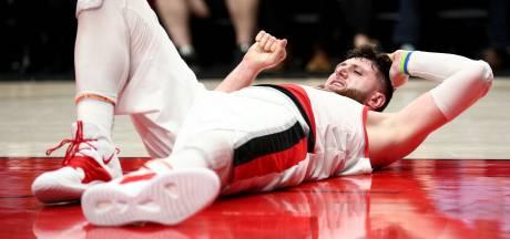 Zware blessure Jusuf Nurkic overschaduwt feest in Portland