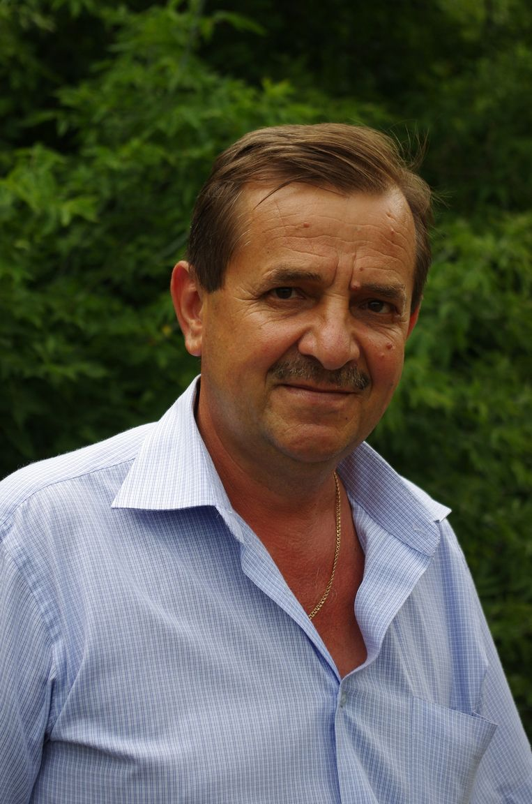 Oleg Mirosjnitsjenko, oud-burgemeester van Rozsipnoje Beeld Gert Jan Rohmensen