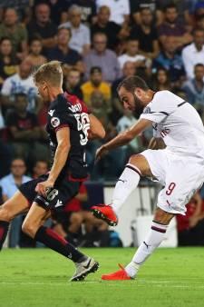 AC Milan op vijftiende plaats na gelijkspel bij Cagliari
